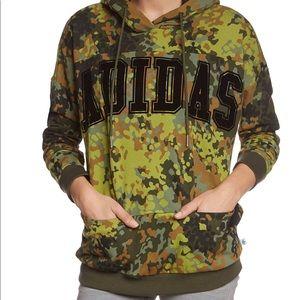 Adidas originals camo hoodie